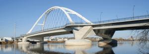 bridge over water built by EFCO
