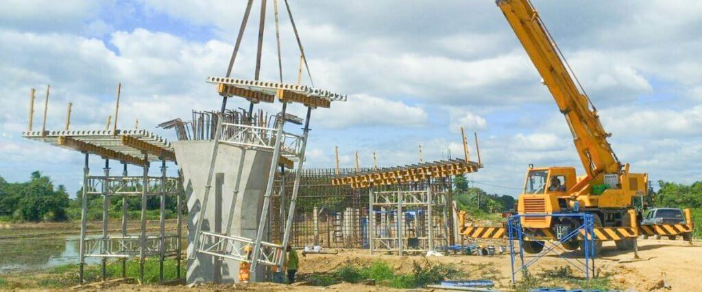 EFCO Formwork at Double Track Rail Network Elevated Bridge - Ratchaburi, Thailand