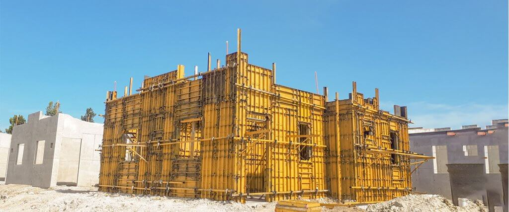 EFCO Formwork at Bacolod City, Philippines Housing Development - Bacolod City, Philippines