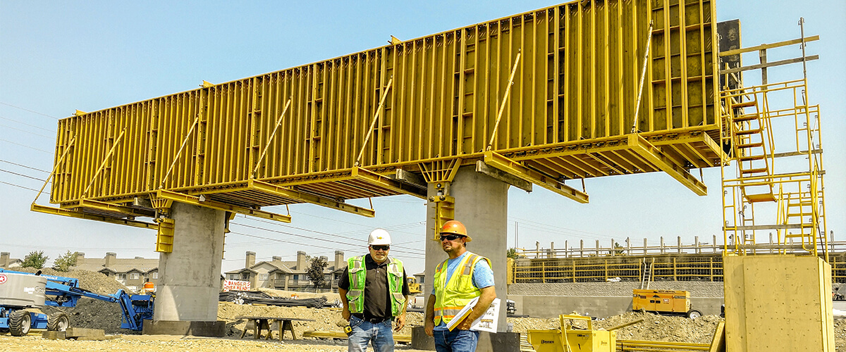 EFCO Formwork at Duportail/Stevens Corridor Development - Richland, Washington