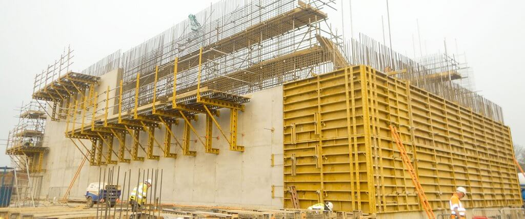 EFCO Formwork at Hooton Bio Power Station - Cheshire, United Kingdom