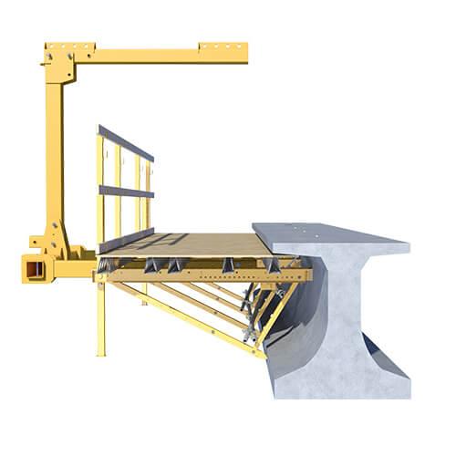Heavy Duty Bridge Overhang Bracket