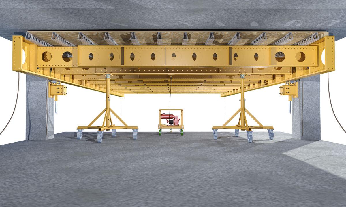 EFCO ADJUST-A-DECK - Elevated Deck Forming System