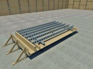 Cunningham Deck Panel Assemblies