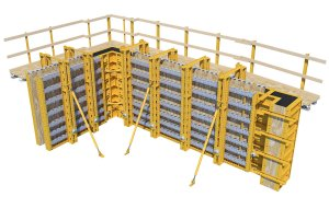 E-BEAM & SUPER STUD Wall Forming System
