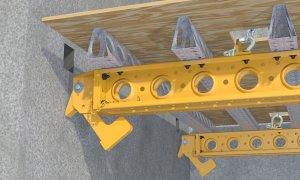 Guided Rail System Flipper Lock