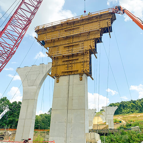 EFCO Bridge Formwork
