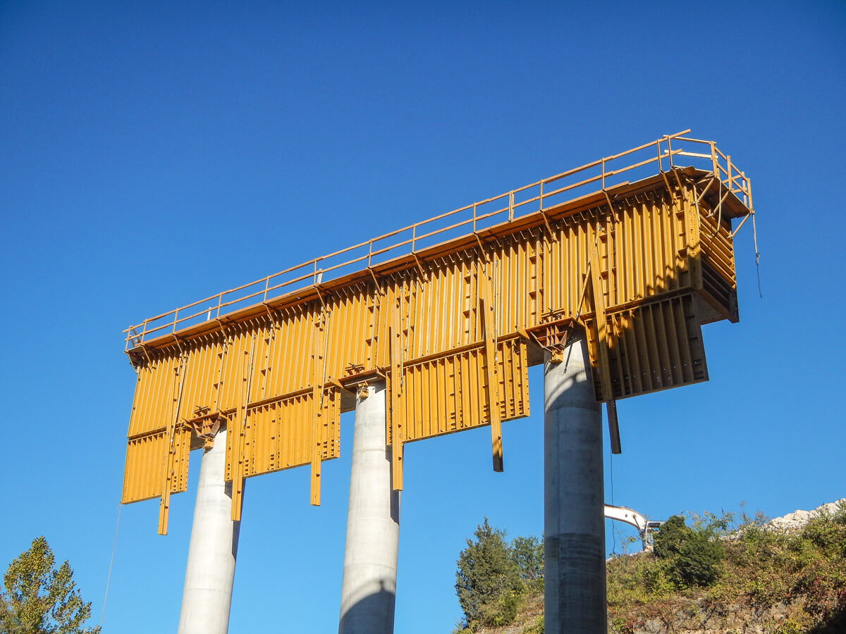 PLATE GIRDER Self-Spanning