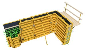 PLATE GIRDER Forming System for Walls