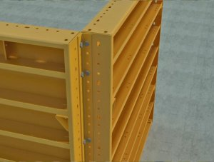 PLATE GIRDER - Outside Angle Corner
