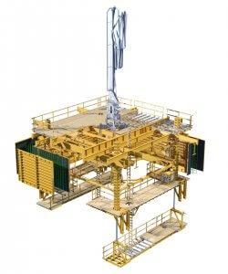 POWER TOWER - Self-Climbing System