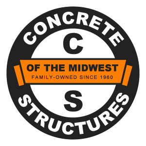 Concrete Structure of the Midwest Company Logo