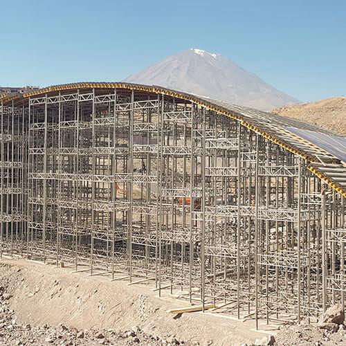 Huarangal Bridge - Macro Southern Region, Peru