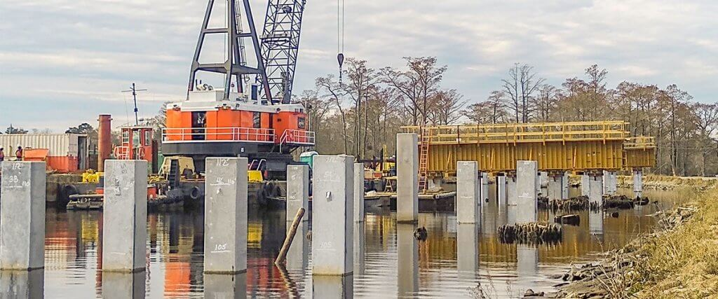 Formwork Construction | Swing Bridge