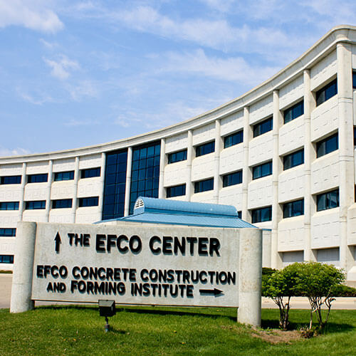 EFCO Concrete Construction and Forming Institute
